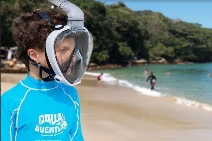 Tour Bombinhas com Aqua Aventura na Praia da Sepultura